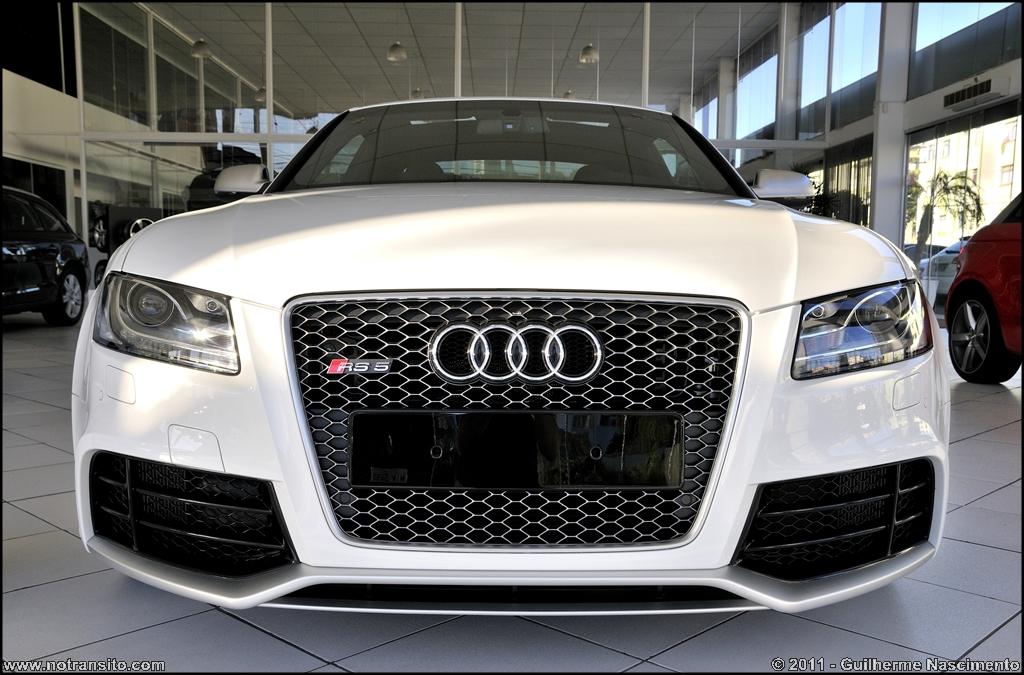 Audi Rs5 In Brazil White W Black Interior Teamspeed Com